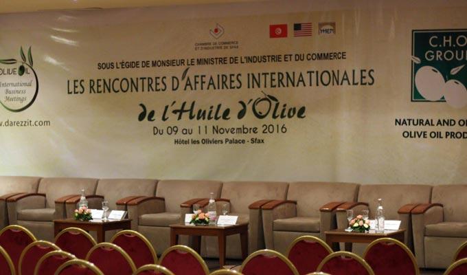 Rencontres internationales de l 39 huile d 39 olive de sfax for Chambre de commerce de sfax