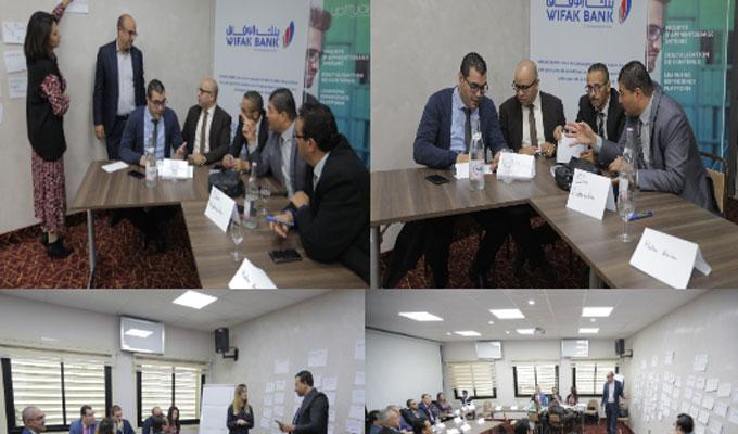 Wifak Bank a récemment organisé, à la Maison de l'Entreprise (IACE), sa première rencontre dénommée &qout;Wifak Bank E-learning Day&qout;, et ce au profit de ses directeurs d'agences. Cette rencontre s'inscrit dans le cadre de la nouvelle politique de res